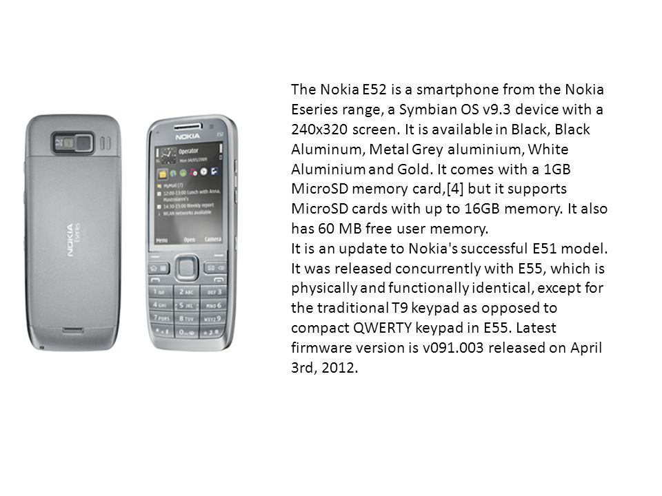 Jcb ppt download the nokia e52 is a smartphone from the nokia eseries range a symbian os v9 urtaz Images